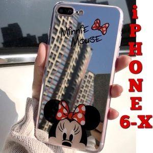 Accessories - Mirrored Minnie Soft iPhone Case 6-X